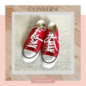 CONVERSE ALL STAR Low Cut Sneakers Red